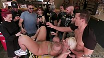 Monster tits alt sub dp banged in public's Thumb