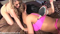 Maggie Green In Big Tit Triple Play Threesome! image