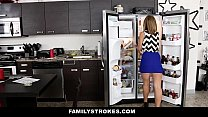 FamilyStrokes - Cute Blonde Fucked by Step-Brother