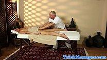 18838 Massage loving ebony tugging hard cock preview