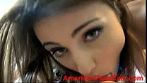The lovely Adria Rae makes you cum before your day in vega AmericanTeenCam.com preview image