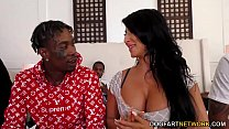 Raven Hart Interracial Gangbang preview image