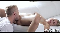 Pleasing playgirl is filling her hungry needs with dudes choad pornhub video