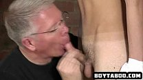 6202 Hot twink gets his cock sucked and ass spanked preview