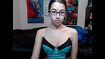 teen alexxxcoal masturbating on live webcam  - ...