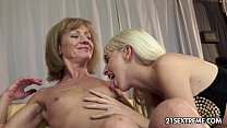 Alexa Wild and Katherin Old Young Lesbian Love video