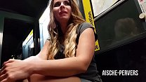 aische-pervers - An der Bushaltestelle ÖFFENTLICH GEFICKT Vorschaubild