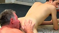 Nude men Daddy Brett obliges of course, after sharing some oral and