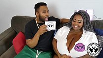 Huge Black BBW Massive Boobs Interview With @Poundhardent