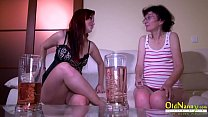 OldNannY Old Mature and Teen Lesbian Masturbation pornhub video