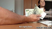 Hot amateur Eurobabe Antonia Sainz screwed for a lot of cash