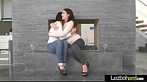 Lovely Lesbo Girls (Valentina Nappi & Leah Gotti) In Front Of Cam Make Sex video-29
