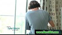 Japanesse Masseuse Gives Pleasure In Nuru Massage 02