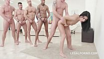 Nicole Black   10on1 DAP Gangbang And Balls Dee