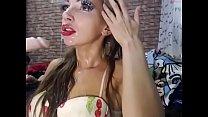skinny slut sloppy facefuck deepthroat very hot crissmoskow 19cam.com