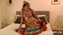 Gujarati Indian College Babe Jasmine Mathur Gar...