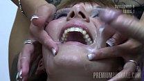 Premium Bukkake - Michelle swallows 83 huge mouthful cumshots Vorschaubild