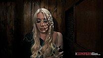 ConfessionFiles: Big Tit Blonde Rides the Priest thumbnail