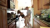 Fucking In the kitchen - Download mp4 XXX porn videos