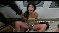 Teen is humiliated and abused porn image