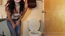 pooping