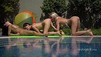 Three Sexy Russian Lesbians Anal Masturbation A