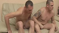 Barebacked Of Two Hot Hunk Gay video