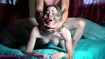 gives her a FACIAL then he gets rougher with he...