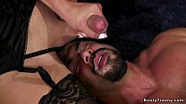 Busty Asian Shemale Torments Male