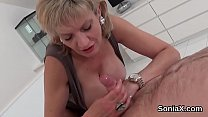 Unfaithful english milf lady sonia shows off her huge boobies pornhub video