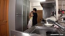 Japanese housewife, Erena Yamamoto got gangbang...