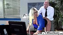 Office Girl (julie cash) With Big Tits Banged Hard Style video-21 video