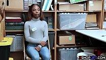 natasa malkova porn: Ebony worker teen thief pay with a round ass for freedom thumbnail