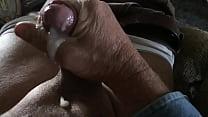 Handjob and cumshot in slow motion
