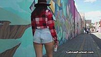 Bubble butt Colombiana teen fucked hard thumbnail