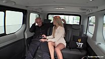 VIP SEX VAULT - Czech babe Angela Christin gets banged in outdoor car sex preview image