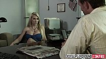 (Madison Ivy) gets fucked on her bosses desk fo...