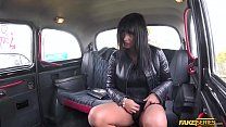 Doggy style sex action with a Czech driver and ...