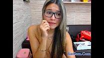 Horny girl live 1 hour masturbating video