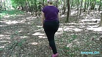 Booty Young Girlfriend Blowjob and Fuck in Forest! - Livehornycam.com - 69VClub.Com