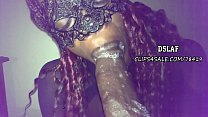 9406 THIS IS DSLAF- African Teen Gives Spitty Sloppy Head To BBC preview