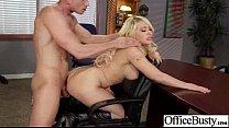 (kagney linn karter) Big Tits Office Girl Fucks Hardcore movie-25