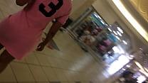 ass under pink skirt on an escalator.MOV pornhub video