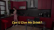 Vipissy - Can U Give Me Drink - Lesbian Piss Drinking Image