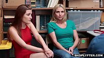 Mother and daughter punished with hard cock for shoplifting - iCamPorn.com pornhub video
