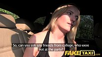 Fake Taxi Creampie ride for a cheerleader's Thumb