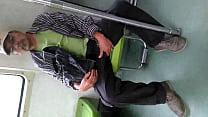 Viejo En El Metro Linea 3