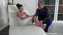 Old-n-Young.com - Anita Bellini - Old man cums ...