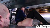 Office Girl (Ava Addams) With Big Round Melon T...