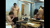 twink orgy in class